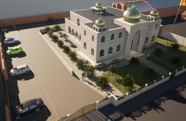 The proposed new Sikh Temple in Wheeler Street (Photo: Benson Planning)